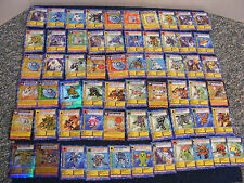 Lot of 61 Digimon cards
