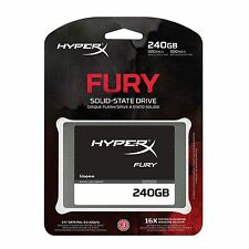 Kingston HyperX FURY 240GB SATA3 6Gb/s SHFS37A/240G 7mm Solid State Drive SSD