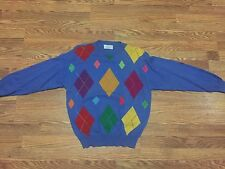 Vintage 80's United Colors Of Benetton Crew Neck Sweater Adult Small