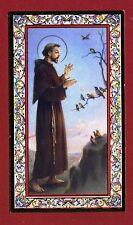 SANTINO SAN FRANCESCO di ASSISI  IMAGE PIEUSE - HOLY CARD-  Heiligenbild