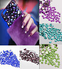 2000 Crystal Flat Back Acrylic Rhinestones Gems 15 colors 2mm, 3mm, 4mm, 5mm 6mm