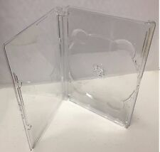 1 New Premium Clear Super Jewel Box Single Disc DVD/CD Case, 9mm thick