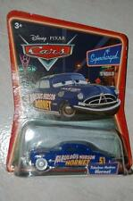 CARS DISNEY FABULOUS HUDSON HORNET ROUES BLANCHES BLISTER SUPERCHARGED