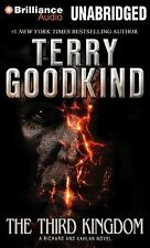 The Third Kingdom by Terry Goodkind (2014, CD, Unabridged)