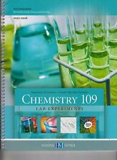 Chemistry 109 Lab Experiments Laboratory Manual 2015-2016 NEW (E1-36)