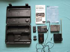 Sony ICF-SW1 FM Stereo LW MW SW Shortwave Radio Receiver SW1S System Package