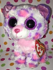 """6"""" Ty Beanie Boo Serena the Leopard Justice Exclusive"""