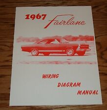 1967 ford truck f100 f750 wiring diagram manual brochure 67 1967 ford fairlane wiring diagram manual brochure 67