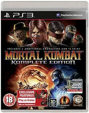 MORTAL KOMBAT KOMPLETE EDITION GIOCO NEW PLAYSTATION 3 VERSIONE ITA PS3020600