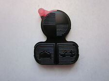 NEW REPLACEMENT KEYLESS REMOTE KEY FOB RUBBER BUTTON PAD FIX