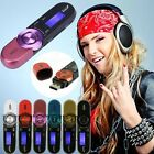 Portable USB Digital MP3 Music Player LCD Screen FM Radio Support 16GB TF Card
