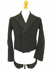 Wtm Mens Bespoke Edwardian Victorian Vintage White Tie Evening Tails Coat 38 40