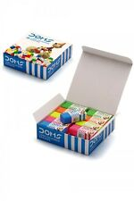 20 Coloured Soft Erasers Stationery School Office Pencil Rubber