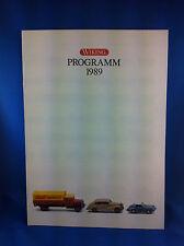 Wiking Programm 1989 Prospekt Mercedes Opel MAN Porsche VW BMW Büssing Magirus