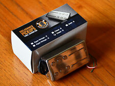 Chrome Cover ! RAILHAMMER CHISEL NECK PICKUP 7.5K HUMBUCKER NEW Guitar Pickup!