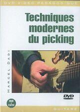 Dadi Marcel técnicas Modernes du recogiendo Guitar Music Musique Dvd Francés