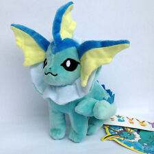 Vaporeon Pokemon Showers Water Plush Toy Stuffed Animal Soft Doll from Eevee 7""
