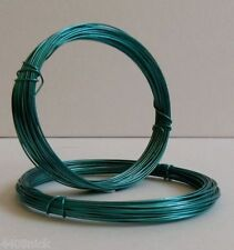 0.6 mm (22 gauge) TURQUOISE CRAFT/ JEWELLERY  WIRE 10 metres