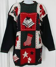 NWT Middlebrook Park Women's Ladies Christmas Pullover Sweater Acrylic Size L