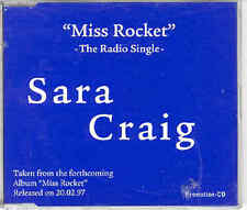 Sara Craig-Miss Rocket (The Radio Single) CD 1997