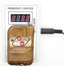 250-450MHZ RF Digital Remote Control Frequency Meter, Counter, Cymometer