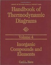 Handbook of Thermodynamic Diagrams, Volume 1: Organic Compounds C1 to-ExLibrary