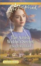 The Amish Widow's Secret (Love Inspired (Large Print))-ExLibrary