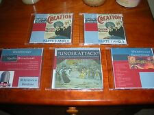PHOTO-DRAMA of CREATION on DVD & 3 others Watchtower & Rutherford Records on CDs