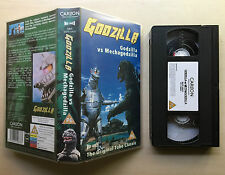 GODZILLA VS MECHAGODZILLA - TOHO STUDIOS - VHS VIDEO