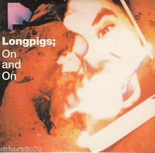 LONGPIGS On And On - CD Single - Card Sleeve