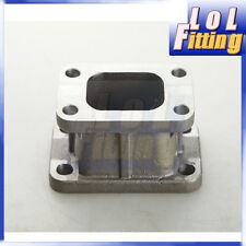 T25 TO T3 TURBO TURBINE EXHAUST MANIFOLD CONVERTER FLANGE ADAPTOR STEEL