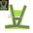 Reflective Vest High Visibility Warning Traffic Construction Safety Gear 5m9e