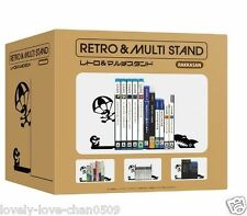 Retro Game Watch G&W OCTOPUS Book Ends Multi Stand (not Nintendo Official)
