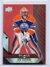 BEN SCRIVENS Oilers 2014/15 Black Diamond #66 Ruby Red Parallel 32/50 SP