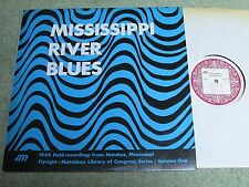 MISSISSIPPI RIVER BLUES Library of Congress field recordings Volume One FLYRIGHT