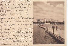 A829) LIDO DI VENEZIA, PALAZZO AL MARE GIA' GRAND HOTEL DES BAINS. VIAGGIATA.