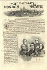 1844 CORTE DI REGINE Bench Dublino traversers sotto processo