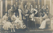 Old Real Photo Postcard - Superimposed Pictures of All German Kaisers & Wives