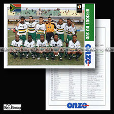 Equipe AFRIQUE DU SUD SOUTH AFRICA Bafana Bafana World Cup 2002 - Fiche Football