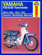Haynes Manual 1247 - Yamaha T50 & T80 Townmate (83 - 95) workshop/service/repair