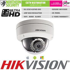HIKVISION DS-2CD2142FWD-IWS 4MM 4MP 2MP 1080P Wifi Audio Onvif WDR cámara IP