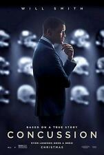 CONCUSSION ORIGINAL 27x40 MOVIE POSTER (2015) SMITH & BALDWIN