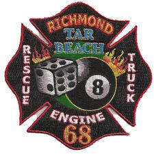 RICHMOND, CALIFORNIA FIRE DEPT. ENGINE 68   TAR BEACH FIRE PATCH