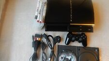 ORIGINAL Sony PlayStation 3 60GB PS3 60GB Model CECHC03, Plays PS2 & PS1 Games