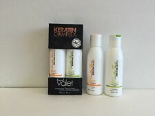KERATIN COMPLEX SMOOTHING THERAPY KERATIN CARE SHAMPOO & CONDITINER TRAVEL KET