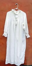 Vintage Past Times Nightdress White Cotton nightgown victorian chemise SCA OS