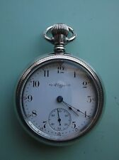 Vintage Antique Elgin GM Wheeler 18s pocket watch *serviced*