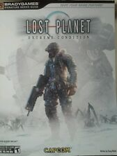 BRADY GAMES strategy guide LOST PLANET Extreme Condition Xbox 360 Free Shipping