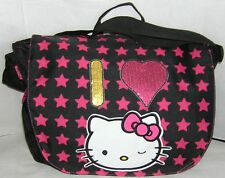 Hello Kitty LAPTOP MESSENGER BAG NICE GIFT FREE USA SHIPPING NWT