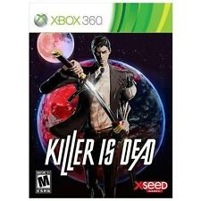 Killer Is Dead (Microsoft Xbox 360, 2013) Plays On Xbox 360 & Xbox One